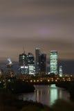 городок ночи Стоковые Изображения