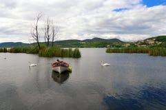 Городок озера кастории и кастории, в Греции - 2 Стоковая Фотография