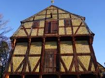 Городок Орхуса старый стоковая фотография rf