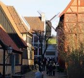 Городок Орхуса старый стоковые изображения rf