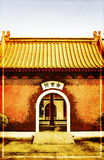 городок открытки фарфора Стоковая Фотография RF