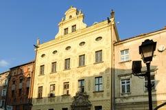 городок Польши torun залы старый стоковое изображение rf