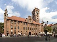 городок Польши torun залы стоковые фото