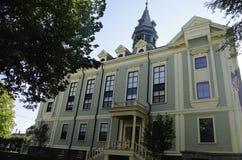 Городок Провансали здание муниципалитета Стоковая Фотография