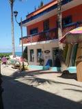 Городок пляжа, Мексика стоковые фото