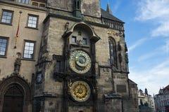 городок республики prague чехословакской залы старый Стоковые Фото