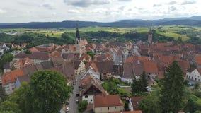 Городок сверху стоковые изображения rf