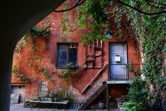 Городок Таллина старый в Таллине, Эстонии Стоковое Изображение RF