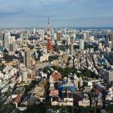 Городок токио Стоковые Фотографии RF