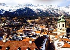 Городок точек зрения старый Стоковая Фотография