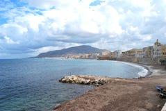 Городок Трапани - Сицилии, Италии Стоковые Фотографии RF