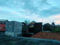 Городок утра Стоковое фото RF
