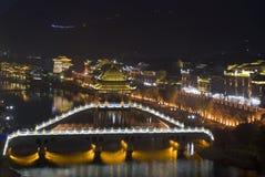 Городок Феникса на ноче Стоковое Фото