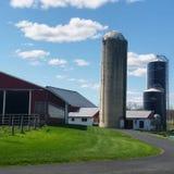 Городок фермы стоковые фото