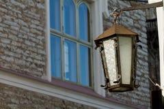 городок фонарика старый Стоковая Фотография