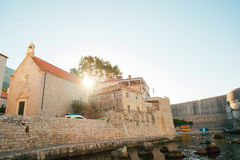 городок Хорватии dubrovnik старый Внутри города, взгляды улиц a стоковые изображения rf