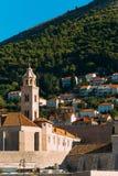 городок Хорватии dubrovnik старый Внутри города, взгляды улиц a стоковые изображения