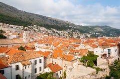 городок Хорватии dubrovnik старый Стоковые Фото