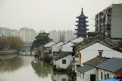 Городок Шанхай Sijing Стоковая Фотография RF