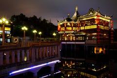 Городок Шанхая старый - висок ChenHua Стоковые Фотографии RF