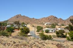 Городок Aus в Намибии стоковое фото rf