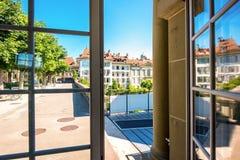 Городок Bern старый в Швейцарии Стоковое Фото