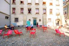 Городок Bern старый в Швейцарии Стоковые Изображения RF