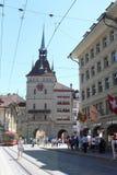 городок bern старый Швейцарии Стоковое Фото