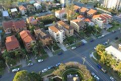 Городок Broadbeach, Gold Coast стоковое фото rf