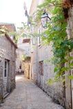 городок budva старый Стоковое Изображение RF