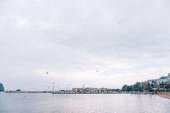 городок budva старый Стоковое Фото
