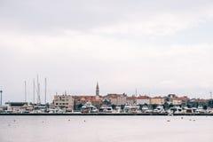 городок budva старый Стоковая Фотография