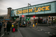 Городок Camden, Лондон Стоковые Фото