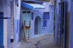 Городок Chefchaouen, Марокко стоковые изображения