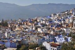 Городок Chefchaouen, Марокко стоковые фото