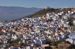 Городок Chefchaouen, Марокко стоковые фотографии rf