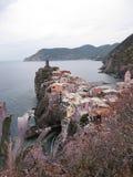 Городок Cinque Terre Стоковые Изображения RF