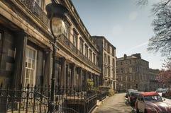 Городок Edinburgh's новый Стоковые Изображения