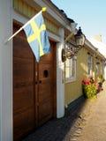 Городок Gävle старый Стоковые Изображения
