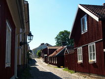 Городок Gävle старый Стоковое фото RF