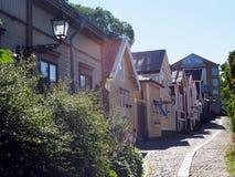 Городок Gävle старый Стоковая Фотография RF