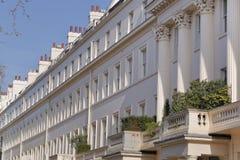 городок georgian домов terraced Стоковые Фото