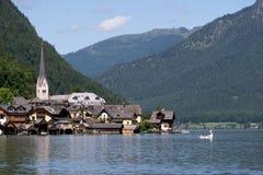 Городок Hallstatt наследия, Австрия Стоковые Изображения