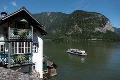 Городок Hallstatt наследия, Австрия Стоковая Фотография RF