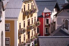 Городок Hallstatt наследия, Австрия Стоковые Фотографии RF