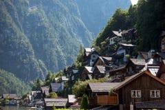 Городок Hallstatt наследия, Австрия Стоковое фото RF