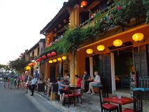 Городок Hoian старый - Вьетнам Стоковое Изображение RF