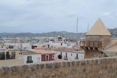 Городок Ibiza Стоковые Изображения