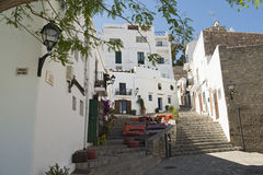Городок Ibiza Стоковое фото RF