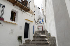 Городок Ibiza Стоковое Изображение